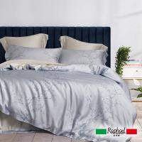 Raphael拉斐爾 玉雪 天絲加大四件式床包兩用被套組