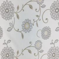 宜欣居傢飾-訂製窗簾-W300cm x H241-280cm以內-春暖花開─雙面緹花遮光窗簾(米)