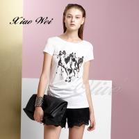 CHENG DA 春夏專櫃精品女裝時尚短袖T恤上衣NO.018771