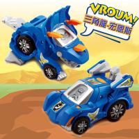 【Vtech】聲光變形恐龍車系列-三角龍-宏恩斯