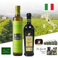 特羅法蘭斯坎LITALIANO特級冷壓初榨橄欖油 + 有機巴薩米克醋  二入組