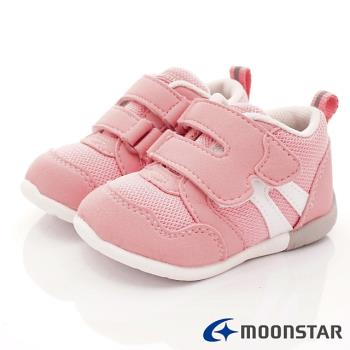 MOONSTAR-日本Moonstar機能童鞋 HI系列3E學步款 MSB1114粉(寶寶段)