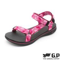 G.P 極輕量織帶旅行涼鞋G9278W-黑桃色(SIZE:36-39 共三色)
