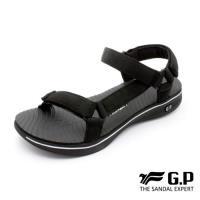 G.P 極輕量織帶旅行涼鞋G9278W-黑色(SIZE:36-39 共三色)