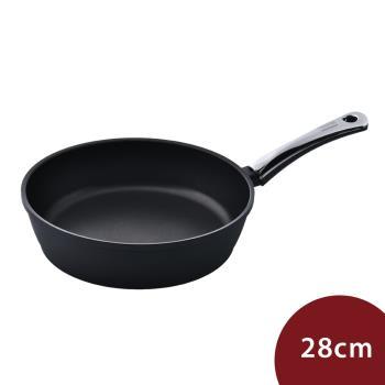 Berndes寶迪 黑鑽鈦金不沾鍋平底鍋 深鍋 28cm 電磁爐不可用