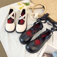 Alice (預購) 歐洲站甜美鏤空綁帶平底鞋