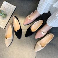 Alice (預購) 經典優雅女伶拼接造型平底鞋