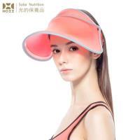 【HOII后益】HOII后益 伸縮艷陽帽 ★紅光(UPF50+抗UV防曬涼感先進光學機能布)