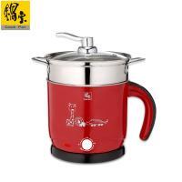 鍋寶 雙層防燙多功能美食鍋-1.8L紅色 BF-1609R