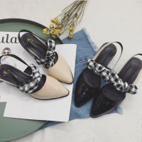 Alice (預購) 歡樂單品蝴蝶結造型尖頭粗跟鞋