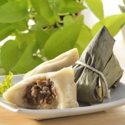 現購-[台灣好粽]客家香菇粿粽(5入/盒,共2盒)(附提盒)
