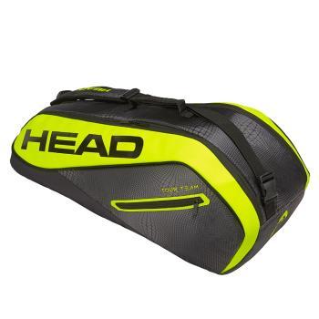 HEAD Tour Team EXTREME 6R Supercombi  6支裝網球拍/羽球拍/壁球拍袋-黑黃 283419