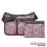 LeSportsac - Standard雙口袋A4大書包-附化妝包 (盛宴)