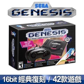 SEGA 迷你復刻 Genesis Mini主機 (收錄42款經典名作)