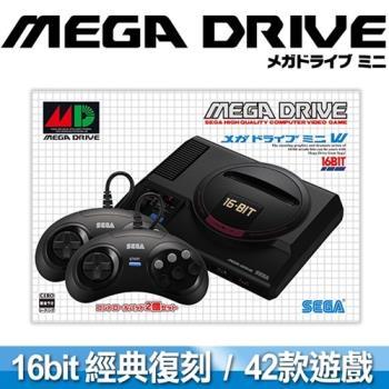 SEGA 迷你復刻 Mega Drive Mini 主機 (收錄42款經典名作)