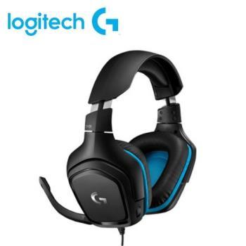 【Logitech 羅技】G431 7.1聲道電競耳機麥克風【贈耳機架ZZZZSW131送完為止】 【贈收納購物袋】