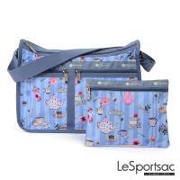 LeSportsac - Standard雙口袋大書包(午茶時光)