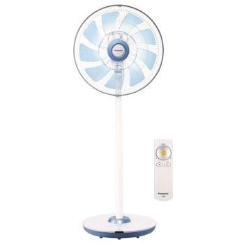 Panasonic國際 16吋 DC風扇馬達ECO溫控立扇F-L16DMD 酷勁藍(福利品)
