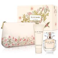 Elie Saab 同名女性淡香精禮盒(淡香精50ml+身體乳75ml+化妝包)
