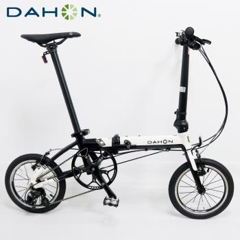 DAHON大行 K3 14吋3速 鋁合金輕量僅8.1公斤折疊單車/自行車-白色