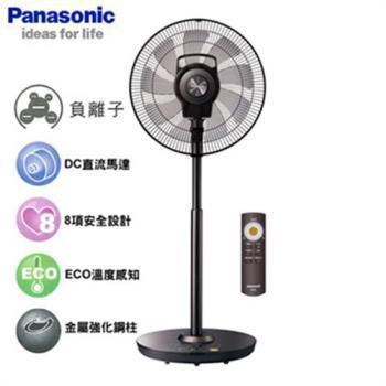 Panasonic國際 16吋 DC風扇微電腦定時立扇F-H16CND-K晶鑽棕(福利品)