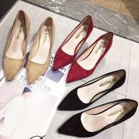Alice (預購) 激推超細編織繽紛尖頭高跟鞋