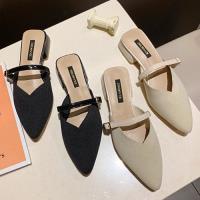 Alice (預購) 輕柔法式優雅尖頭粗跟鞋