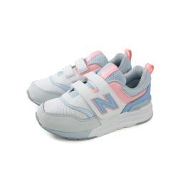 New Balance 997H系列 運動鞋 魔鬼氈 粉藍色 中童 童鞋 PZ997HCI-W no578