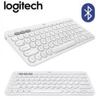 【Logitech 羅技】K380 多工藍芽鍵盤(珍珠白/中文)  【贈飲料杯套】