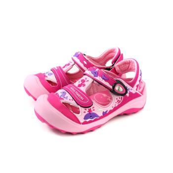GP(Gold.Pigon) 涼鞋 護趾 防水 雨天 桃紅色 中童 童鞋 G9219B-45 no984