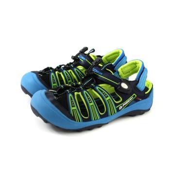 GP(Gold.Pigon) 涼鞋 防水 護趾 藍色 中童 童鞋 G9224B-20 no991