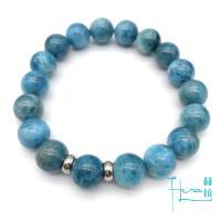 【Hera 赫拉】美意延年天然青磷灰石手鍊/手珠(10mm)