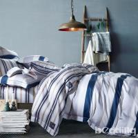 BEDDING-100%天絲萊賽爾-特大6x7薄床包5x6.2尺涼被四件組-夏蘭