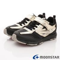 日本月星頂級競速童鞋 閃電競速系列 SSJ8873金(中大童段)