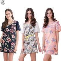 DECOBA(超值3件)歐風精品蕾絲緹花洋裝