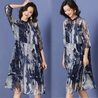 韓國K.W. (預購) 流行穿搭夏日氛圍短袖洋裝
