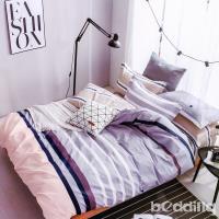 BEDDING-專櫃純棉3.5尺單人薄式床包涼被三件組-旋律-紅