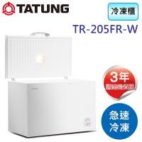 TATUNG大同 205公升冷凍櫃 TR-205FR-W