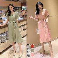 韓國K.W. (預購) 夏日氛圍優雅女伶洋裝