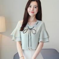 【白色戀人】柔軟舒適知性優雅V領襯衫S-2XL(共三色)