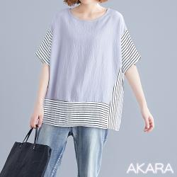 AKARA 光合線條時尚新作風上衣 4色