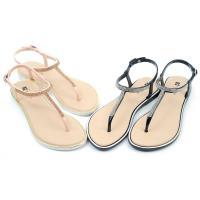 【cher美鞋】 MIT防水夾腳輕量平底舒適涼鞋-黑色/金色-085050312-03