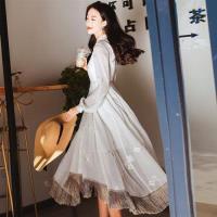 【維拉森林】浪漫典雅流蘇裙襬長洋裝S-L