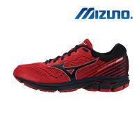 【MIZUNO 美津濃】WAVE RIDER 22 男慢跑鞋 紅 J1GC183210