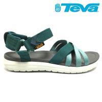 TEVA Sanborn Sandal 女經典緹花織帶涼鞋 深綠 TV1015161DPTL