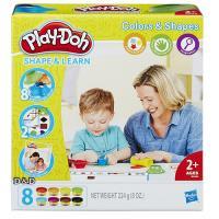【 Play-Doh 培樂多黏土 】 色彩形狀學習遊戲組