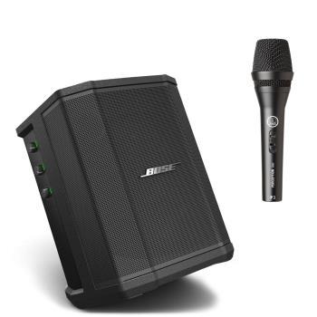 BOSE 美國品牌 S1 PRO 擴聲音響含電池 藍芽喇叭 公司貨保固 搭配AKG P3S(贈保護袋+麥克風導線)