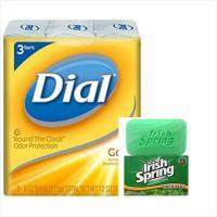 【美國 Dial 黛雅】黃金香皂(4oz*3塊)*3組+【美國 Irish Spring】清新體香皂(4oz/113g)*6