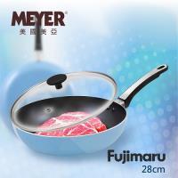 美國美亞 MEYER Fujimaru 藍珊瑚單柄不沾平底鍋 28CM-無蓋 16445