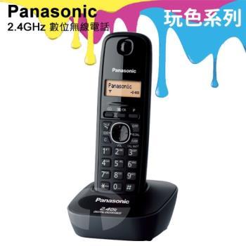 Panasonic 松下國際牌2.4GHz高頻數位無線電話 KX-TG3411 (經典黑)